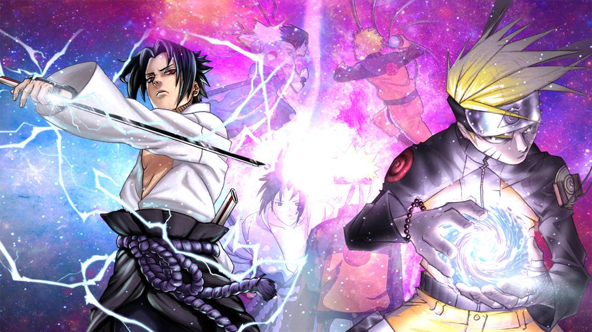 pics photos naruto vs sasuke wallpapers
