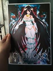Fanart Albedo in Overlord by gyomura19