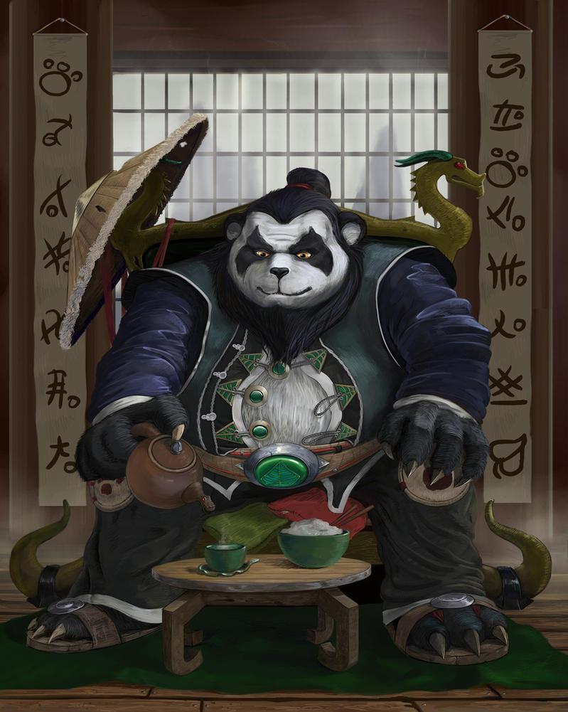 Pandaren Chen by Sjims