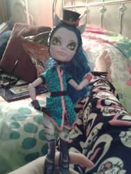 Monster High Avea Trotter Doll Body Custom by JanelleMeap