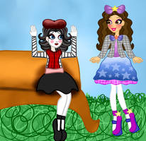 Fardette BlackSwan and Shirley Larible by JanelleMeap