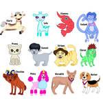 Monster High OC Pets (1) by JanelleMeap