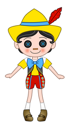 Pinocchio Lalaloopsy Version by JanelleMeap