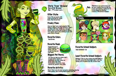 Monster High Bios favourites by Huntermoon on DeviantArt
