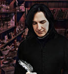 Severus Snape : Owner of a Potion Shop