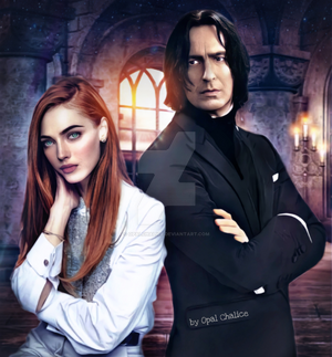 Severus Snape and A Redhead Woman