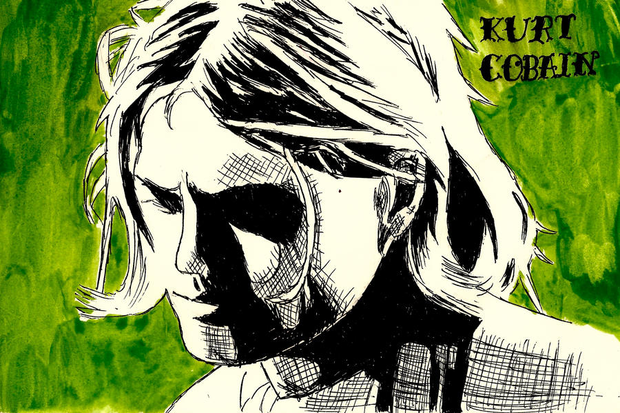 Kurt Cobain by cici1000