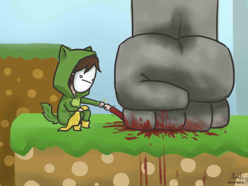 Deadly Brofist :D by ChibiDoodlez