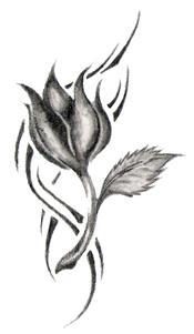 tribal tulip sketch by zurh on deviantart