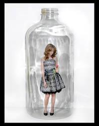 Girl in the Bottle by Zurh