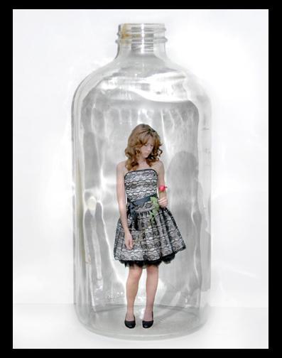 Girl in the Bottle