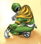 green ranger by david-grier