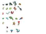 Riftmon sprites by hollow-shell