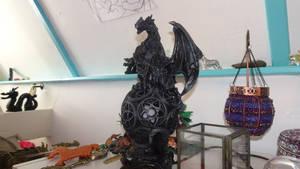 Look At My Dragon Lamp! :D