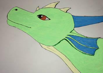 Sara the dragon (gift) by DragonFan656