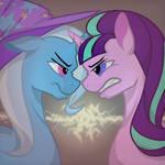 Trixie vs starlight