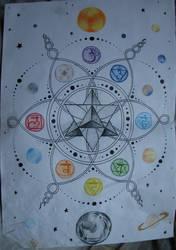 merkaba mandala, for tattoo by Miss-Little-Mouse