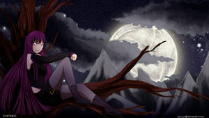 [Cold Night] Aivi Wallpaper by ScarletKnightmare