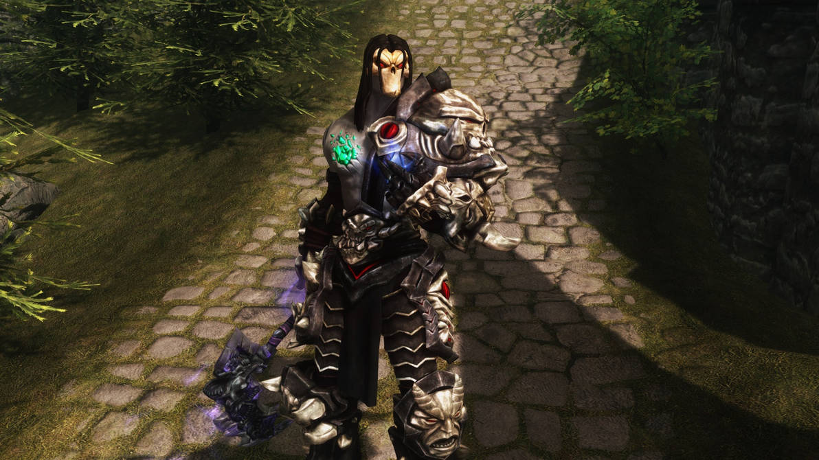 The abyssal armor in darksiders