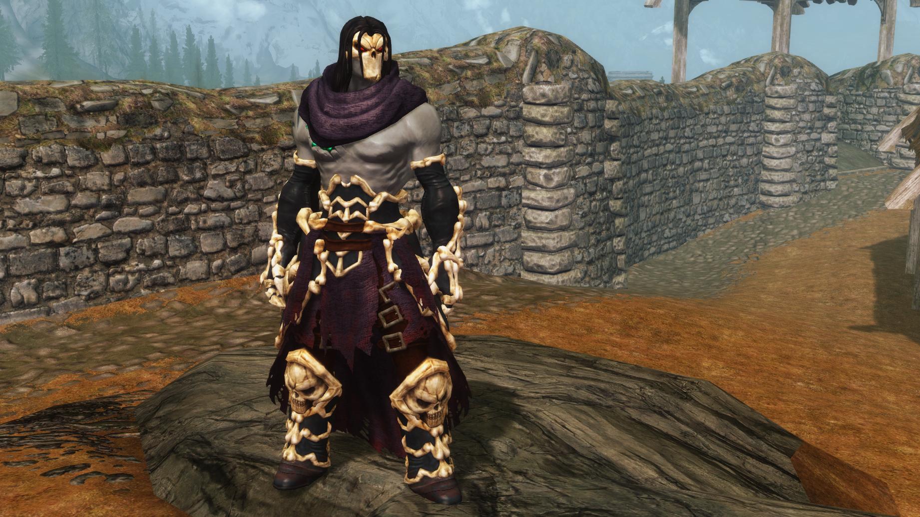 Death Necromancer armor 02 by Ryushenron on DeviantArt