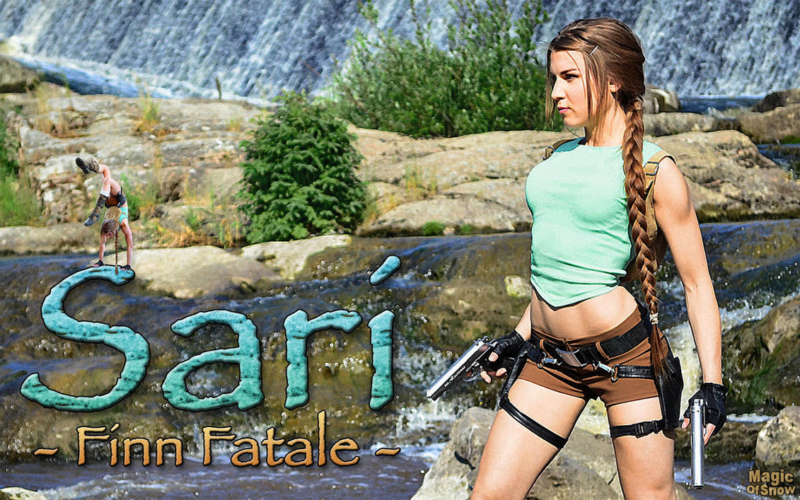 Sari Croft wallpaper - 'Finn Fatale' (1920 x 1200) by MagicOfSnow