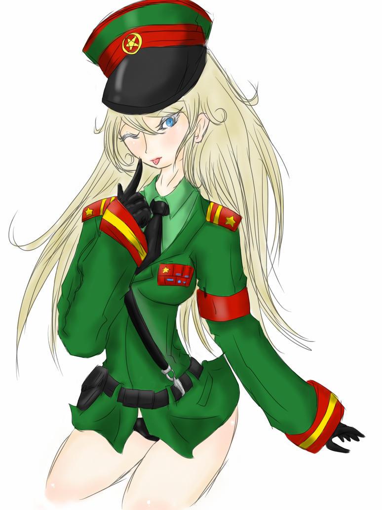 Female major Raikov by DavidRiki