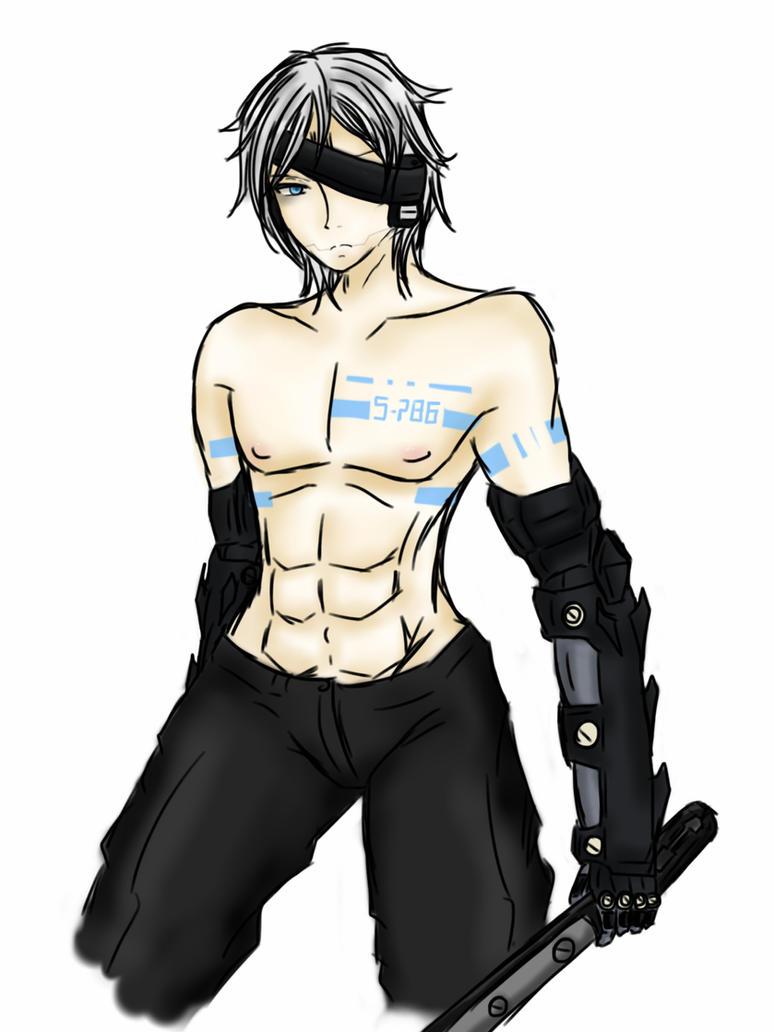 Cyborg arms by DavidRiki