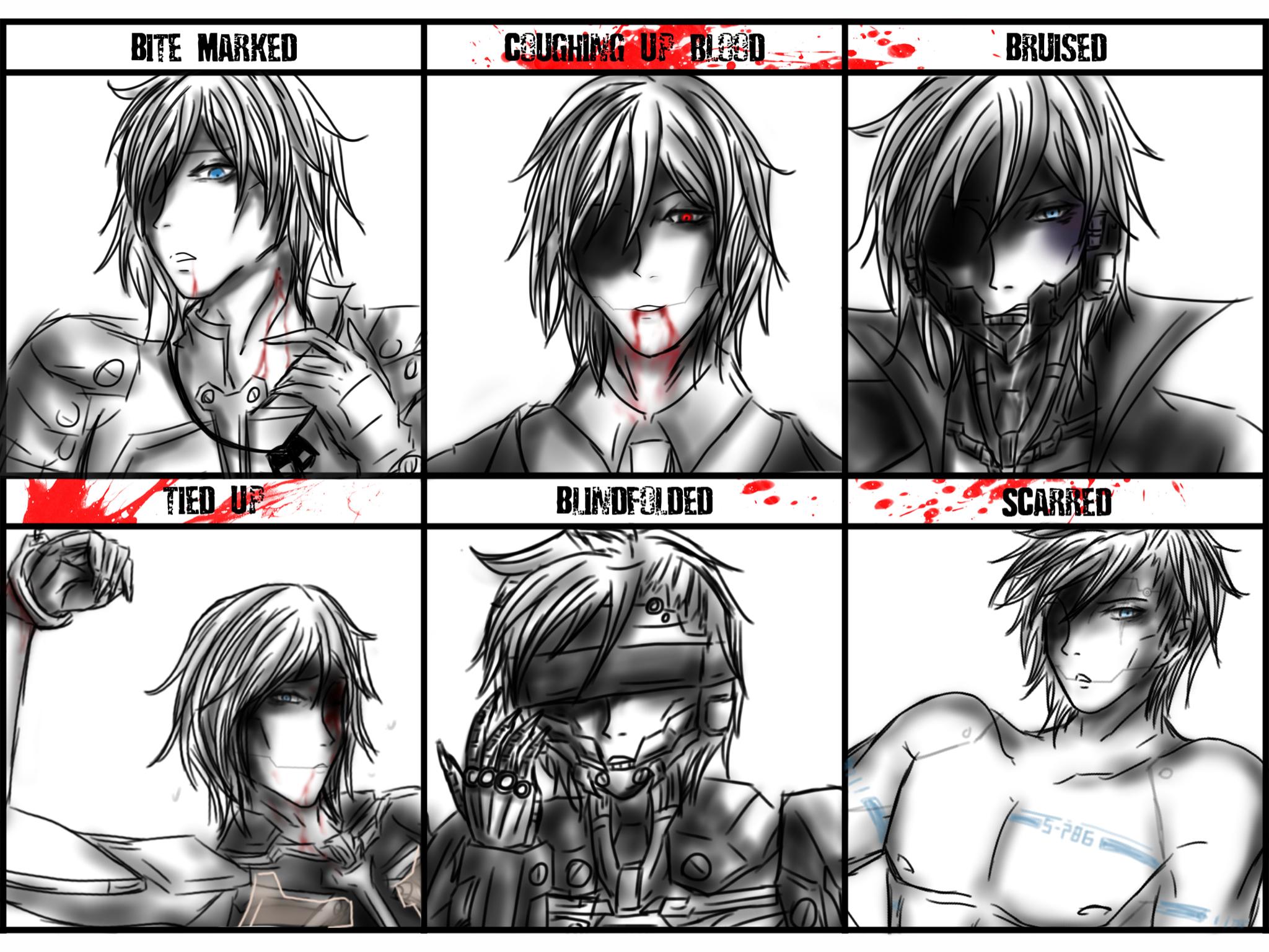 Raiden - Character abuse meme by DavidRiki