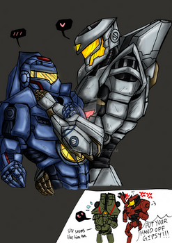 Gipsy Danger x Striker Eureka