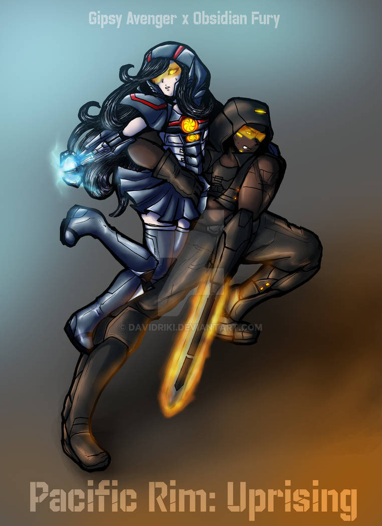 [ PR human AU ] Gipsy Avenger x Obsidian Fury