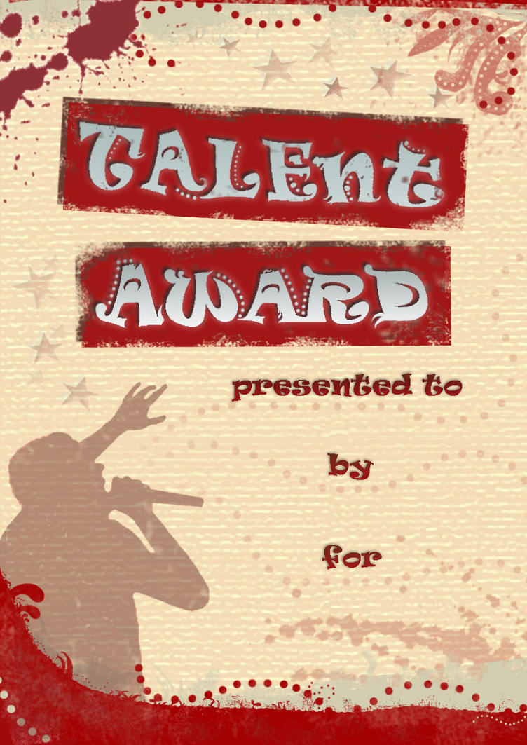Talent quest certificate one by ingulous on deviantart talent quest certificate one by ingulous yadclub Image collections