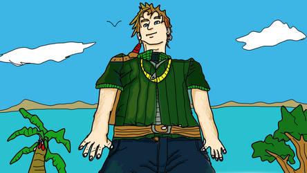Dragon Kingdoms VI William standing tall by VideoWizard2006