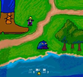 Dragon Kingdoms in Mario Artist by VideoWizard2006