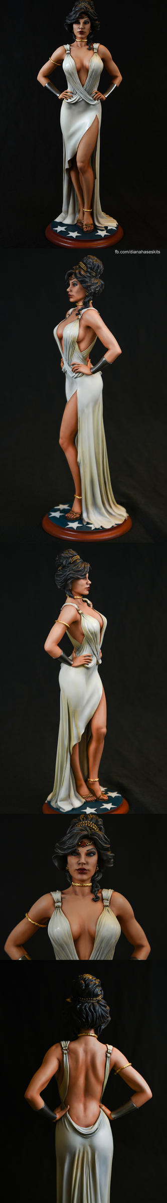 Wonder Woman in Gown 2 by dianahase by dianahase