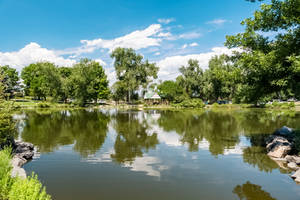 HDR Park with Lake by Chillstice