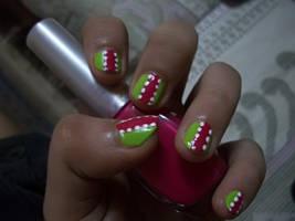 Summer Time - Nail Art by srishti-bagaria