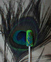 Peacock Feather by srishti-bagaria