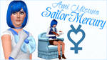 [THE SIMS 3] Sailor Mercury/Ami Mizuno by Reiofuda