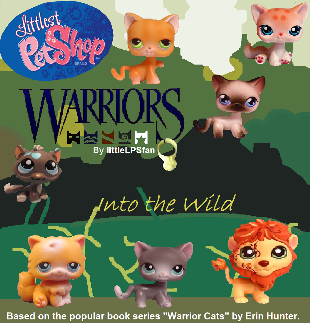 Warriors Into The Wild Box Set: Lps Warrior Cats Into The Wild