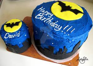 DC Batman Birthday Cake