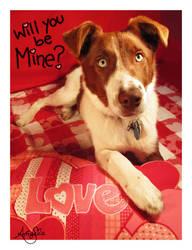Valentine Puppy Love by AdmiralAngela