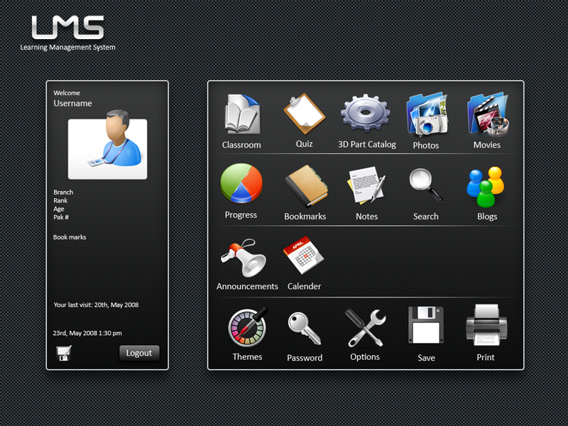 LMS GUI User cpanel by hammadmalik