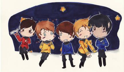 Star Trek by EndlessSummersDay