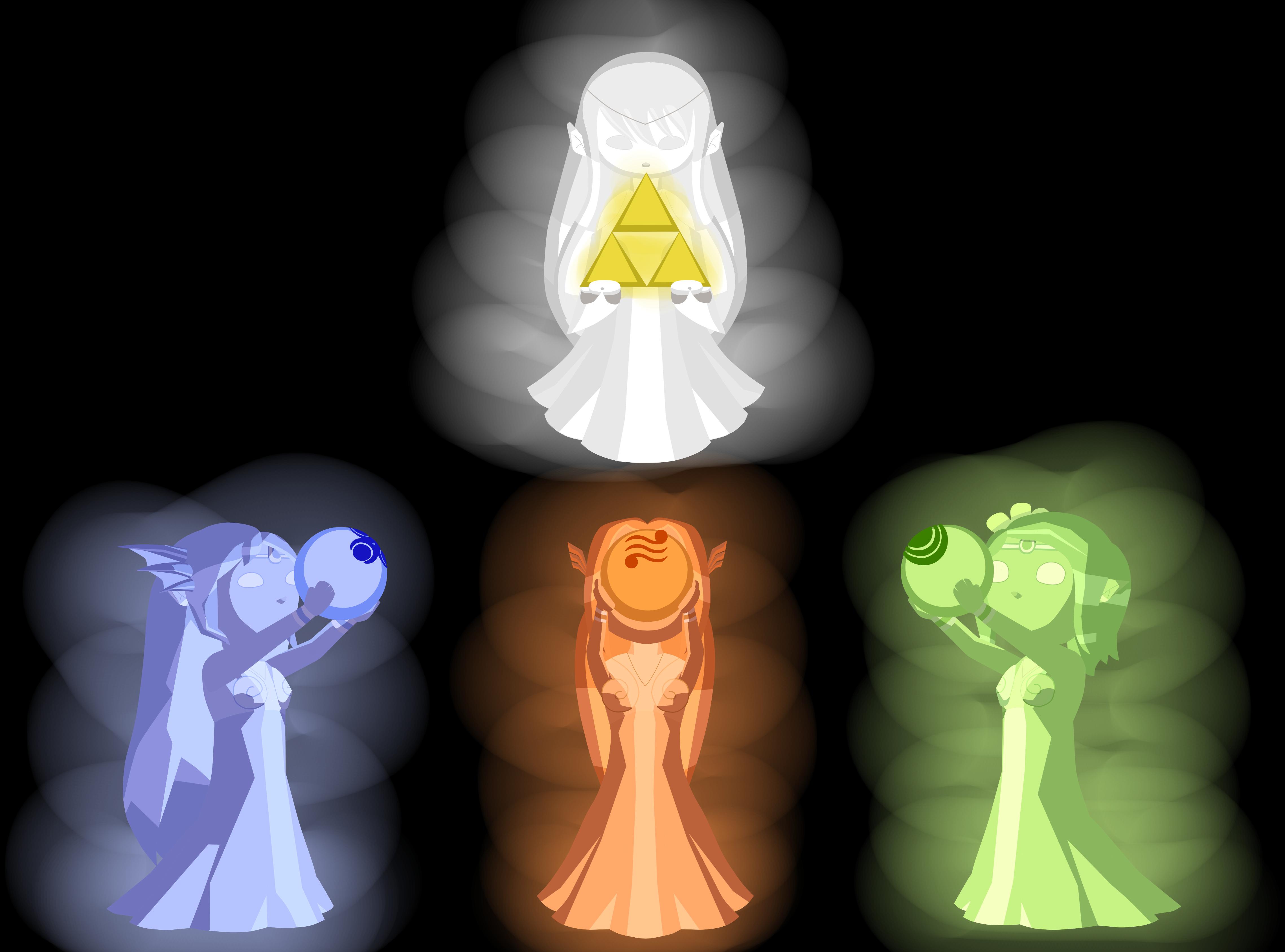 the golden goddesses