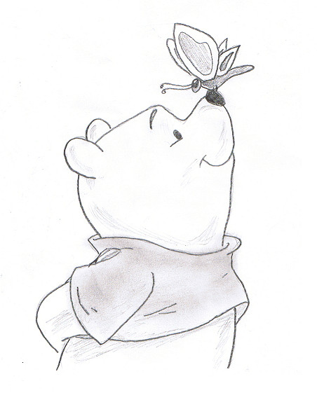 Drawings Of Winnie Cake Ideas and Designs