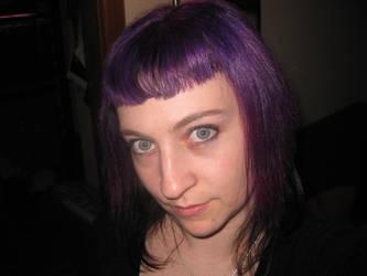 New Purple Hair by MistressRhi