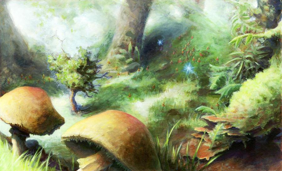 Midsummer Night's Dream by justsomedude86