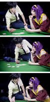 Cowboy Bebop: Poker Face by twinklee