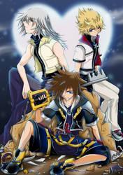 Kingdom Hearts 2 by twinklee