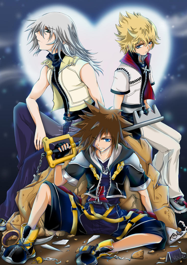 Kingdom Hearts 2 by twinklee